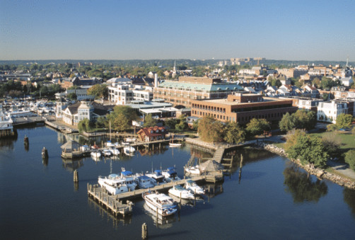 Old Town Alexandria on Potomac River, Virginia