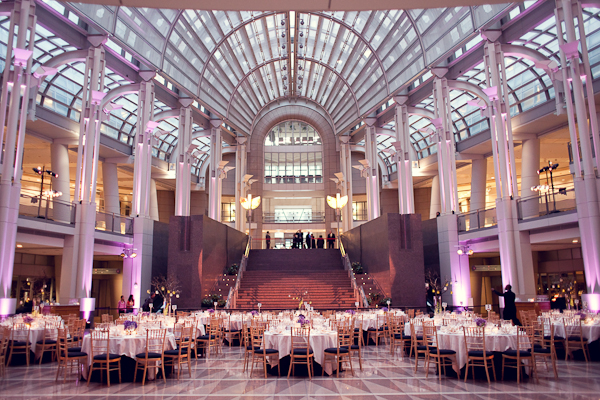 Reagan Trade Center Wedding